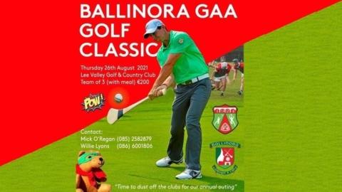 Ballinora GAA Annual Golf Classic 2021